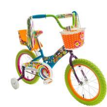 bike with streamers
