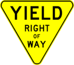 yield yellow