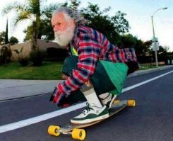 OldManLongboarding