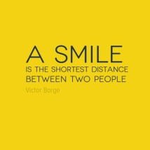 smile shortest distance